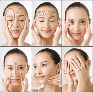 Cách mát xa mặt chống lão hóa cực Hiệu Quả cho từng vùng mắt, má, cằm