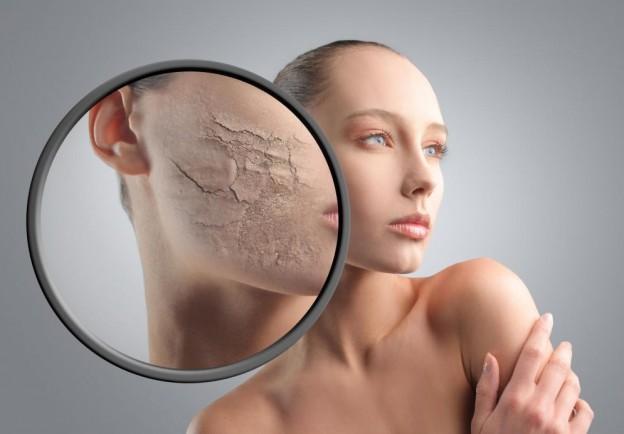 Da khô – Dấu hiệu lão hóa da mặt không thể xem thường
