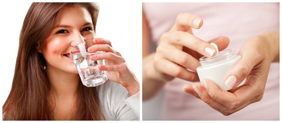Da lão hóa ở tuổi 30 cần bổ sung đủ độ ẩm, nước