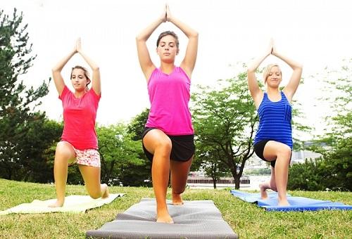 Tập thể dục đều đặn để duy trì một cơ thể khỏe mạnh, trẻ trung