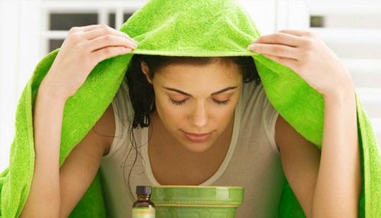 Xông hơi da mặt để đào thải độc tố, tăng đàn hồi cho da