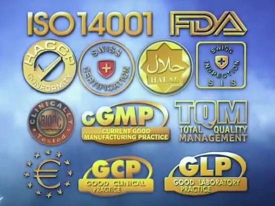 Những chứng nhận từ tổ chức uy tín thế giới và được công nhận trên >70 quốc gia