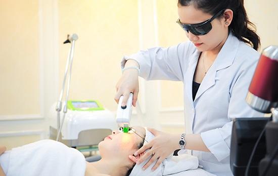 Công nghệ trẻ hóa da bằng laser công nghệ cao