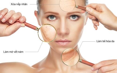 Dưỡng trắng và điều trị các bệnh về tăng sắc tố da