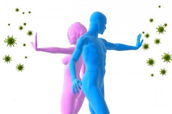 Hệ miễn dịch được tăng cường khỏe mạnh