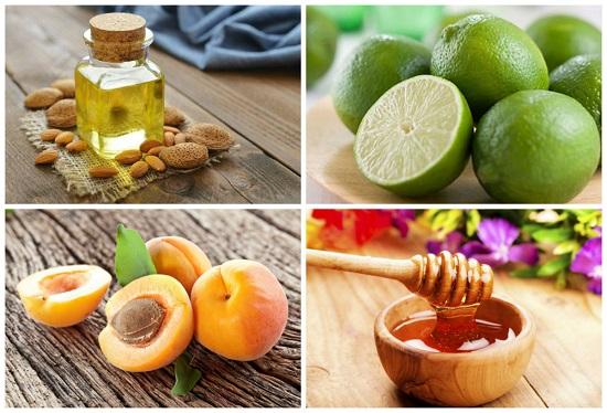 Trẻ hóa da bằng công thức: quả mơ + chanh + dầu hạnh nhân + mật ong